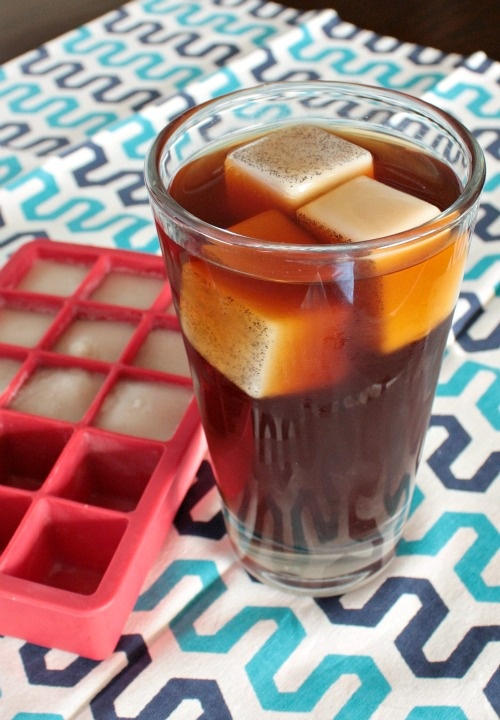 Cold-Brew Coffee with Vanilla Ice