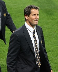 Robbie Deans, current coach of the Wallabies and former All Black