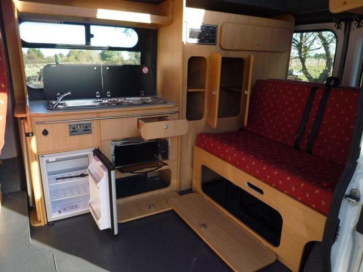 20+ DIY Ford Transit Camper Remodel Ideas