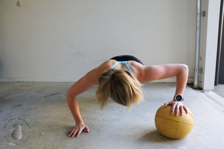 Medicine ball push ups   Deciding which Gym is Right for You - WIN 30 day gym pass