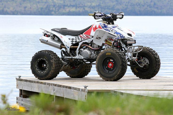 ATV BUILD: Honda TRX450R