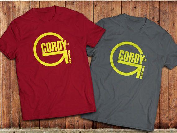 Gordy Records T-Shirt, Tamla Motown, Northern Soul #Gordyrecords #motown #northernsoul #recordlabel