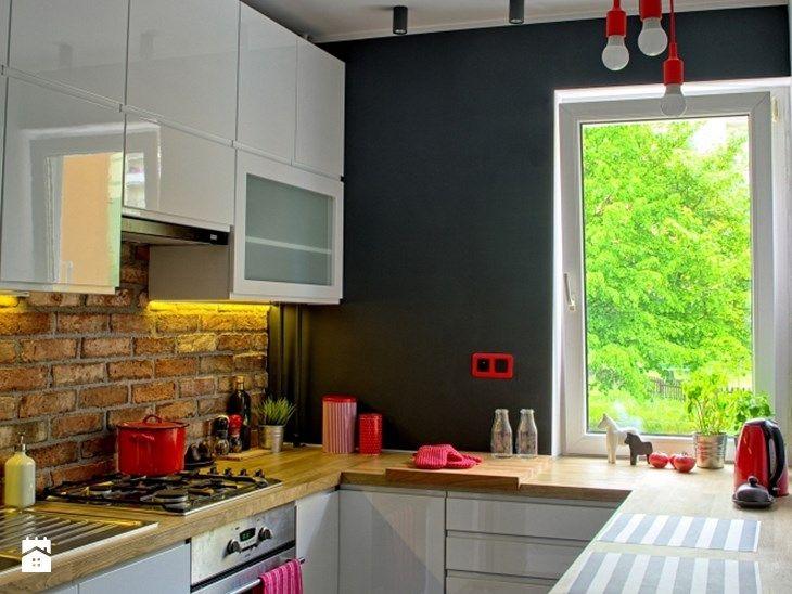 Industrialna kuchnia - Kuchnia, styl industrialny - zdjęcie od MOJE