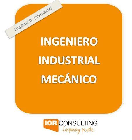 Empresa multinacional italiana dedicada a la fabricación de equipos de precisión para medida y control en ambiente de producción precisa incorporar a su centro productivo en ALEMANIA un/a:   INGENIERO INDUSTRIAL MECÁNICO