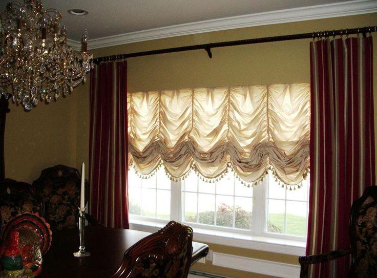 Австрийские и Французские шторы в интерьере вашей гостиной