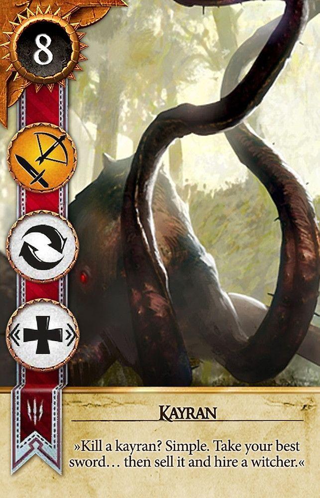 Kayran (Gwent Card) - The Witcher 3: Wild Hunt