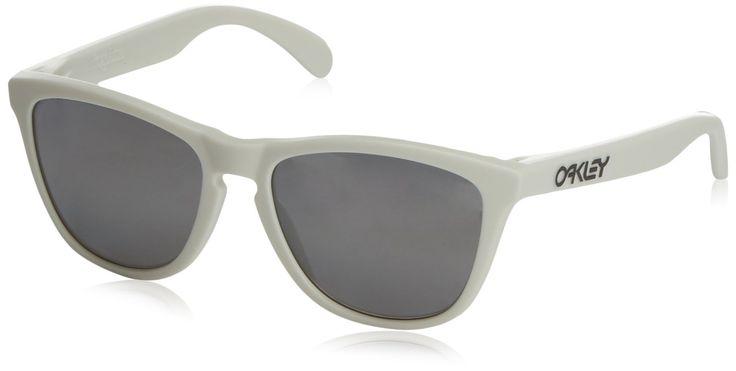 Oakley oOO9013-13 Heaven and Earth White Frogskins Wayfarer Sunglasses Polarise