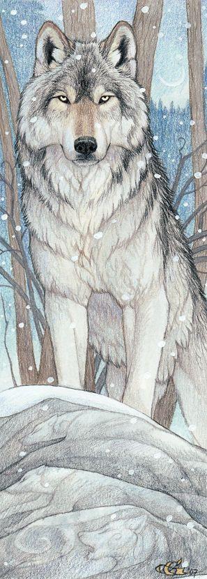 """Spirit Totem Animals: """"Spirit of the Wolf,"""" by Goldenwolf, at deviantART."""