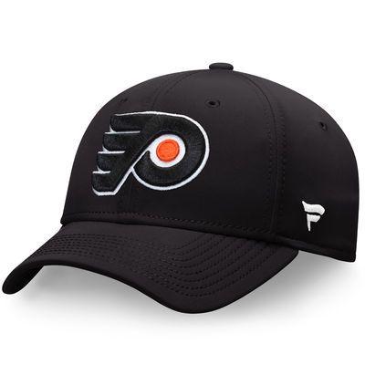 Philadelphia Flyers Fanatics Branded Women's Elevated Core Speed Stretch Fit Flex Hat - Black