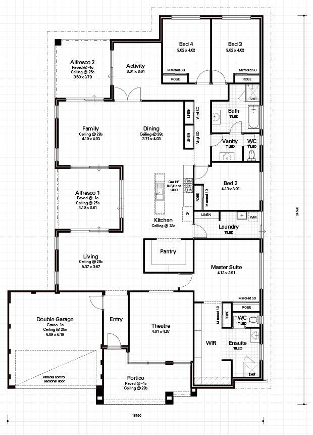 Choice Series - The Chateau - Floorplan