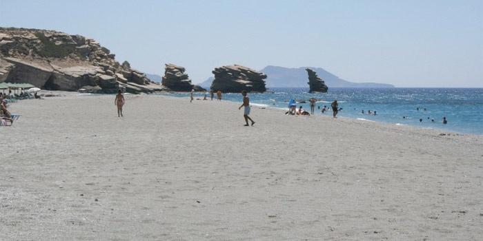 West Triopetra Beach in Agios Pavlos, Rethimno, Crete