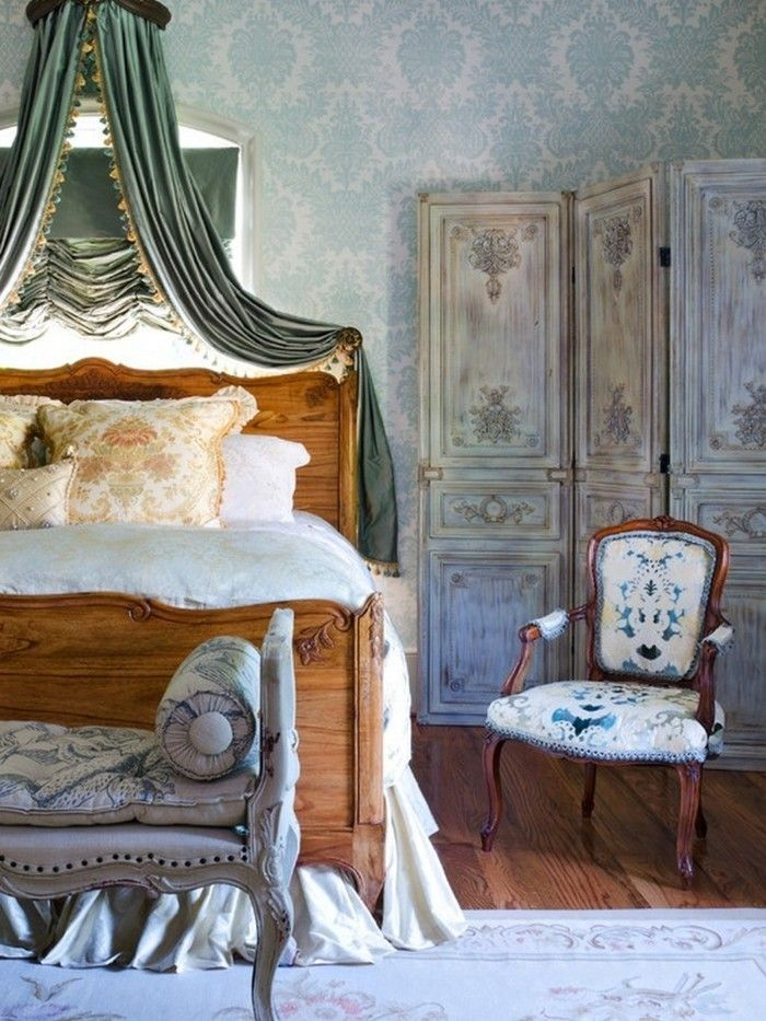 189 besten innendesign bilder auf pinterest innendesign - Tapeten landhausstil schlafzimmer ...