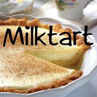 Easy Milk Tart