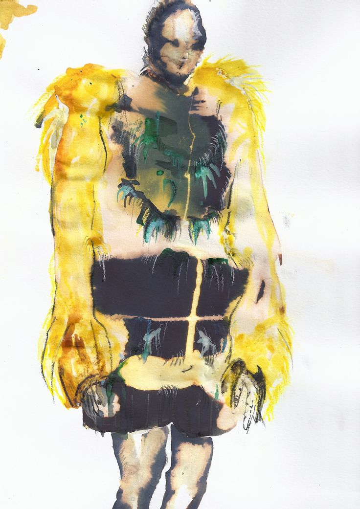 Our first year fashion design students are taught by illustrator Richard Gray. These are a selection of first year students fashion illustration work, depicting this seasons runway collections.