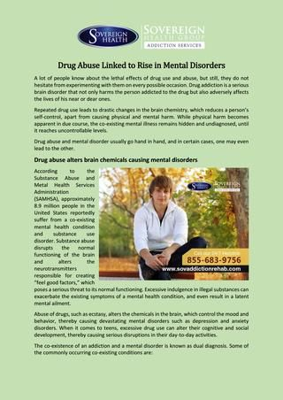 abnormal psychology abuse addiction disorders Posts about abnormal psychology written by substance abuse disorder she said choosing to smoke pot was difficult because it crosses the line of addiction.