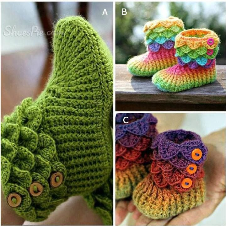 Baby Booties! Perfect For Fall!