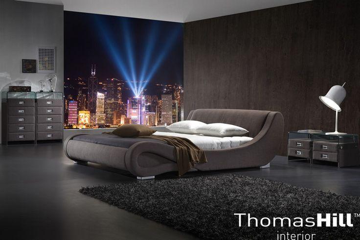 Vår populære Bristol seng i tekstil
