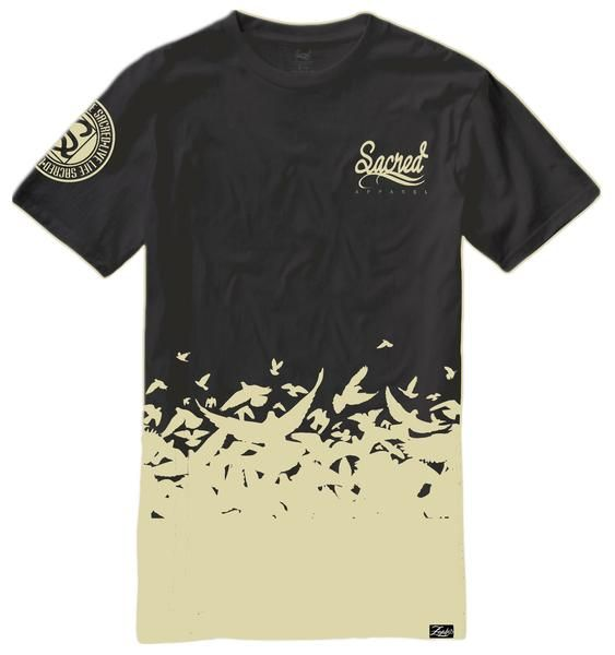 Our Doves Flocked tee is currently on sale. You will love the feel & custom print of this shirt Head to our site and get yours today. https://www.sacredapparel.net/collections/all-store/products/doves-flocked