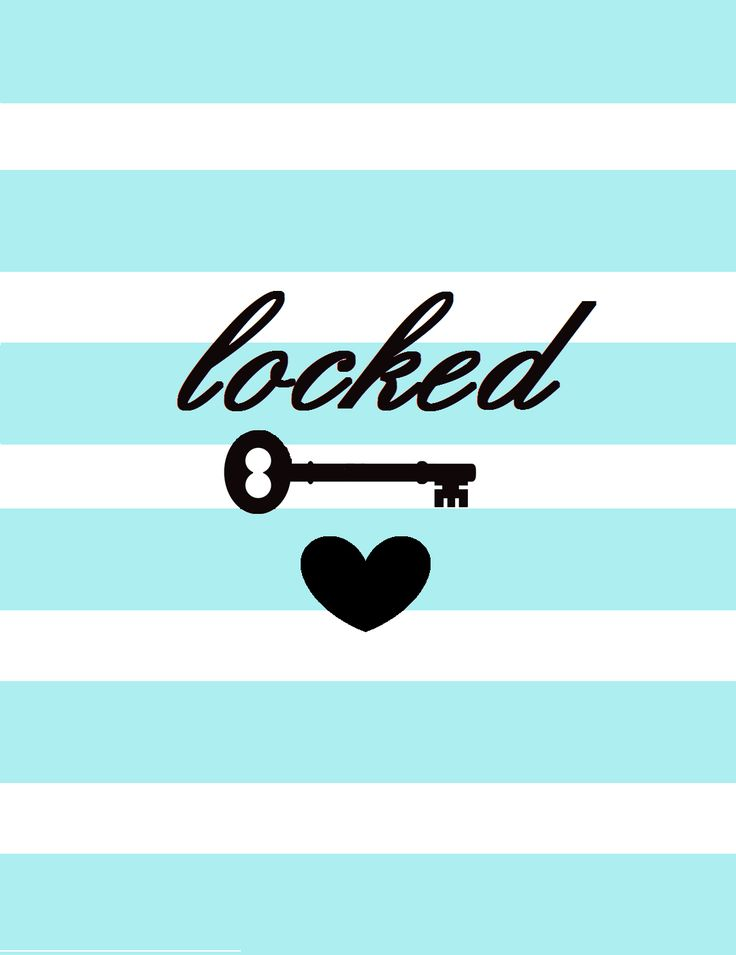 Blue and white lock and key background