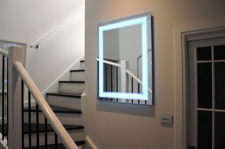 700mm W x 900mm H, Art Deco style LED lighted Mirror, change the colour of the light via your smartphone. Choose from 64 million colours. Made in Australia by Clearlight designs. Please visit www.clearlightdesigns.com.au