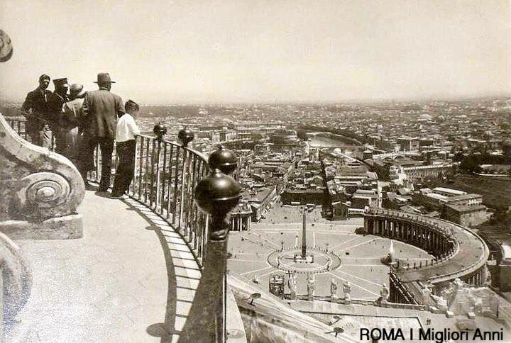 Panorama da San Pietro 1936.