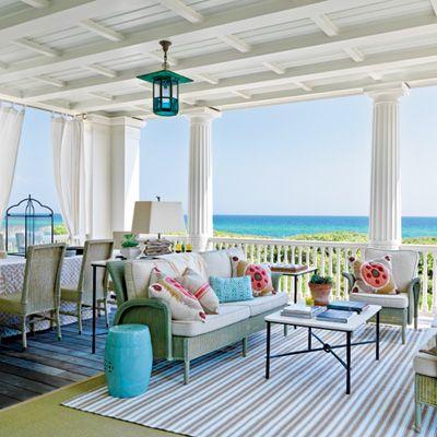 Seaside, Florida porch: Florida Home, Outdoor Living, The Ocean, The View, Back Porches, Coastal Living, Dreams Porches, Beaches Houses, Ocean View