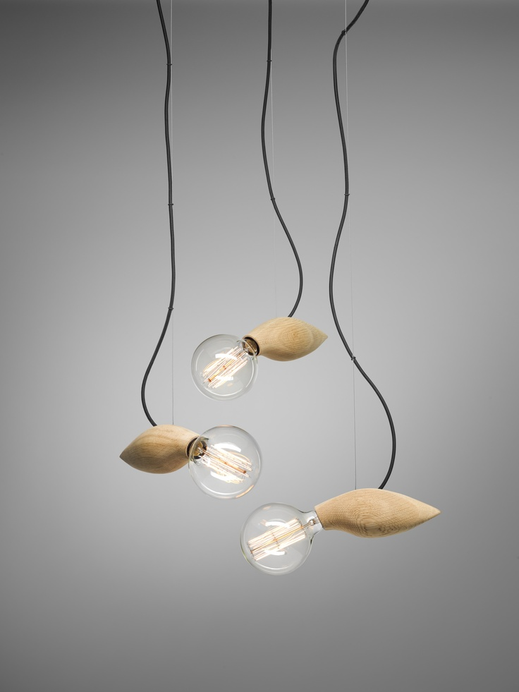 The Swarm Lamp.   Clean. Refined. Shaped by Nature.