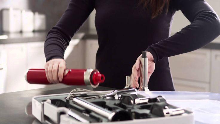 The KitchenAid® Proline Series 5-Speed Cordless Hand Blender Kitchenaid Blender Artisan Bezprzewodowy