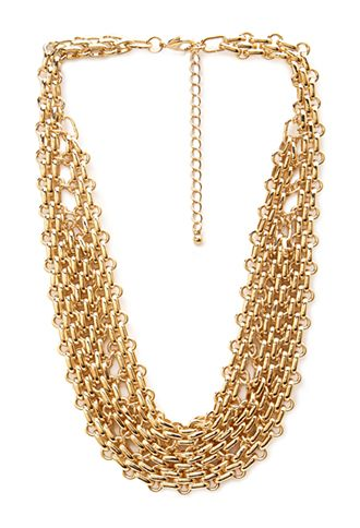 Chained Bib Necklace | FOREVER21 - 1000060777