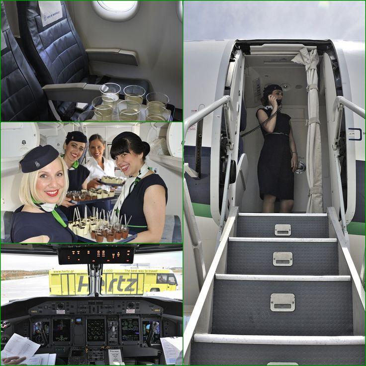 """Athens International Airport """"Eleftherios Venizelos"""" Το αεροσκάφος της πτήσης μας για την Μάλτα προετοιμάζετε για να υποδεχτεί τους επιβάτες της πρώτης πτήσης . Ένας δροσερός χυμός από λεμόνια και μια επιλογή από δύο γλυκά σφηνάκια θα είναι το καλωσόρισμα. Το αεροσκάφος είναι έτοιμο και οι επιβάτες επιβιβάζονται ."""