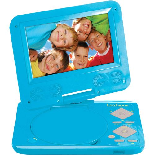 "Lexibook 7"" Portable Kids' DVD Player"
