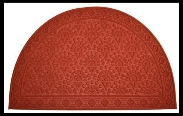Synthetic Mat - Doormat - Red Shell