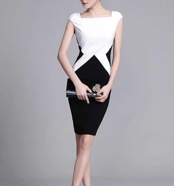 Smart & Casual Dress Womens office wear black and by chiefcolors