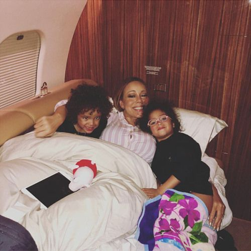 #DemBabies: Mariah Carey Shares Sweet Instagram Snap of Herself... #MariahCarey: #DemBabies: Mariah Carey Shares Sweet… #MariahCarey