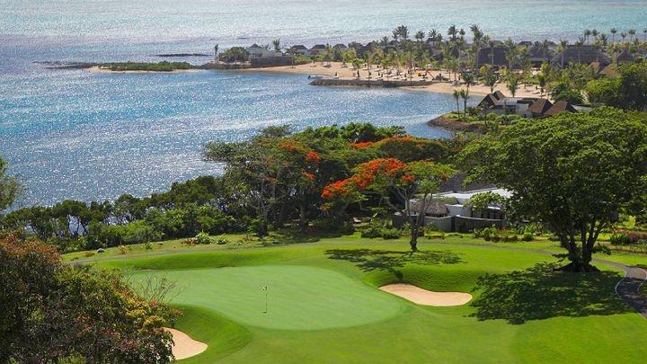 Four Seasons Mauritius Golf Course   designed by Ernie Els