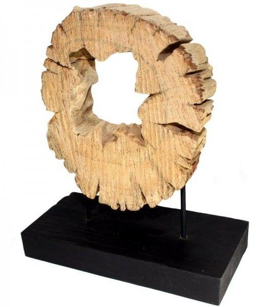 Slovensky-Italiano-English  Masívna dekorácia na nábytok z masívneho Teakového dreva. Dekorácia v tvare kruhu je jedinečná svojim prevedením, každý kus je originál. Naplavené drevo,...