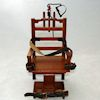 Dollhouse Miniature Old Sparky Wood Electric Chair [AZ-P6630] - $31.95 : Mainly Minis Dollhouse Miniatures
