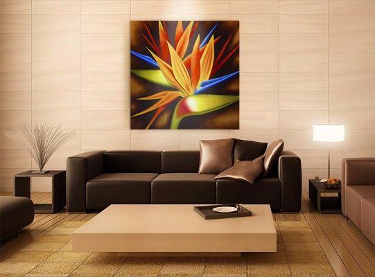 17 mejores ideas sobre cuadros de flores modernos en for Pinturas modernas para interiores