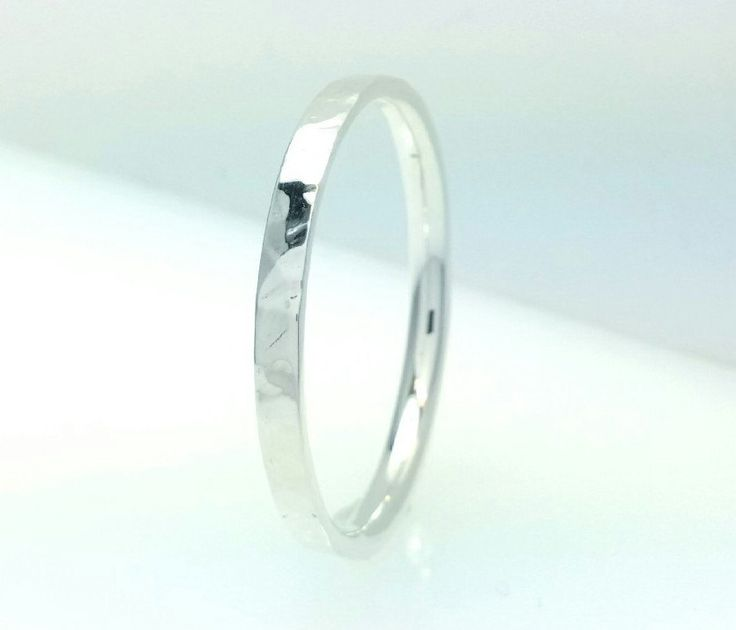 Great #sterling #silver #wedding band #ring #polish #hammered