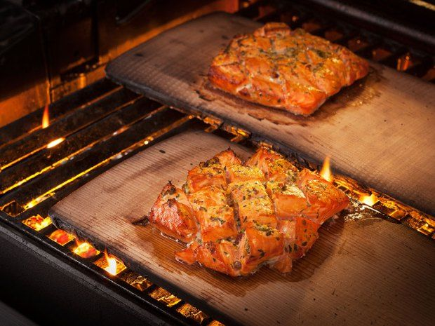 Our Citrus and Vodka-Marinated Planked Salmon is the perfect dish, as it combines two things most dads love —seafood and the barbecue.