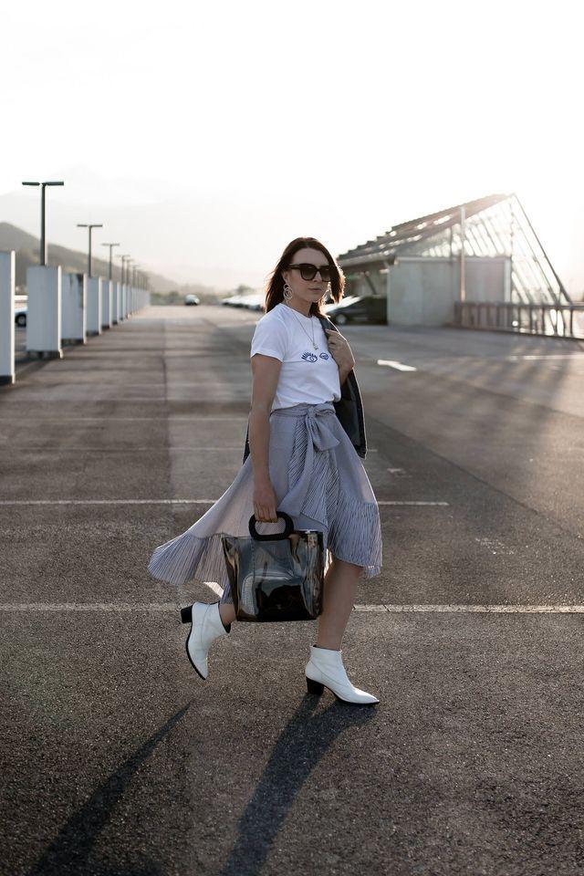 f70f836eb3f13 Transparente Tasche  So trage ich die neue It-Bag im Alltag! +  Styling-Tipps!