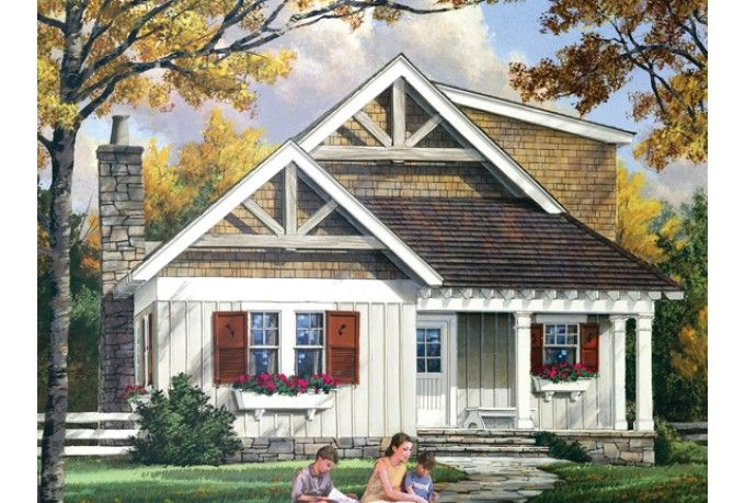 ePlans Craftsman House Plan – 1765 Square Feet and 3 Bedrooms from ePlans – House Plan Code HWEPL75752