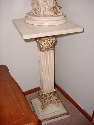 1000 images about pedestal table diy on pinterest for Diy square pedestal table