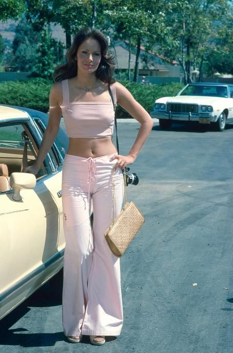 "Jaclyn Smith - On The Set Of Charlie's Angels ""The Killing Kind"" In July 1976"