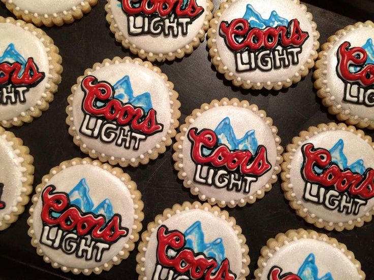 coors light sugar cookies   https://www.facebook.com/caceyscakery/?ref=aymt_homepage_panel