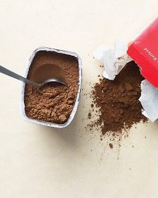 Let Martha clear up the cocoa confusion.  {Droste' Cocoa in the red box - LOVE.LOVE.LOVE!}Olive Oil, Powder Difference, Recipe, Food Facts, Martha Stewart, Cooking Tips, Dutch Process Cocoa, Cooking Hints, Cocoa Powder