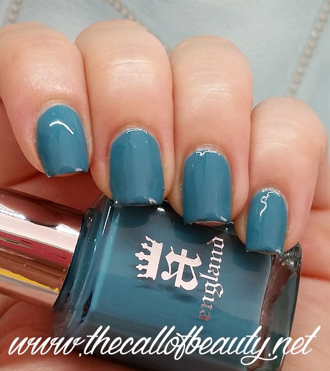The Call of Beauty: Nail Swatch: A-England Galahad