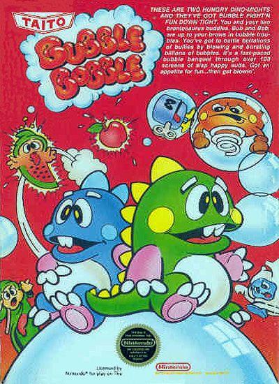 Bubble Bobble. Never gets old! :D
