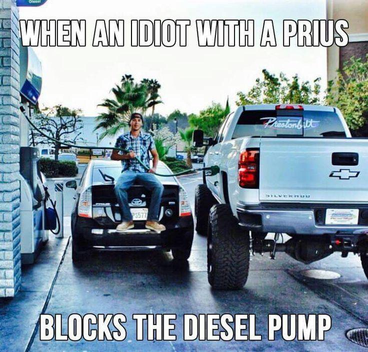 Prius idiot
