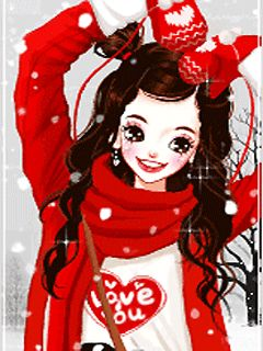 szép koreai rajzfilm lány Images 4